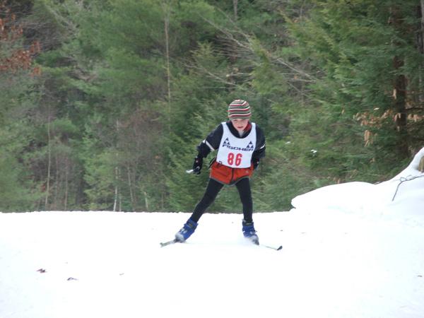 Erik Schreiner, our youngest competitor
