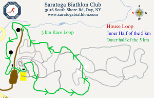 3 km Race Loop - (15 km race)