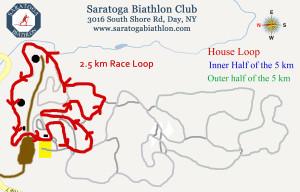 2.5 km race loop