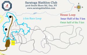 2 km race Loop
